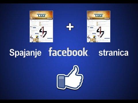 Kako spojiti dvije facebook stranice u jednu?