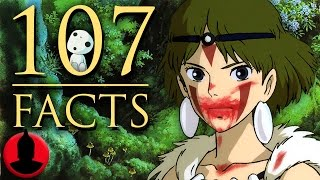 107 Princess Mononoke Facts (ToonedUp #203) | ChannelFrederator
