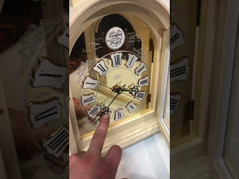 Каминные кварцевые часы SARS 0092-15 Ivory