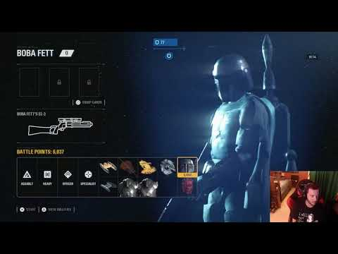 Star Wars Battlefront 2 Beta Gameplay #1: Darth Maul and Killing Spree!