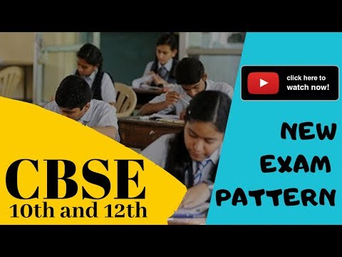 CBSE 10th and 12th New Exam Pattern Explained | Marks | Weightage | Question Types | Exam Criteria