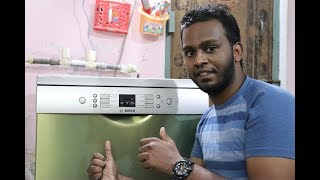 Bosch SMS66GI01I Dishwasher hands on! Full Demo! All Doubts Cleared!