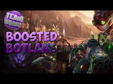 Boosted Bot Lane #1 | League of Legends