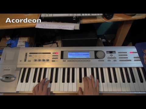 Todo Me Gusta De Ti-Aaron y Su Grupo Ilusion (Piano/Teclados)Tutorial Korg