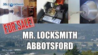Locksmith Business For Sale   Mr. Locksmith™ Abbotsford BC