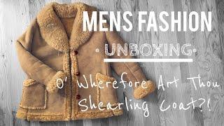 MENS FASHION• Unboxing • SHEARLING COAT • Chris Garceś