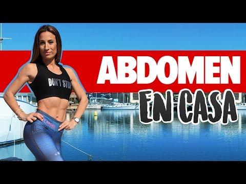 ABDOMEN FUERTE 6 ejercicios panza fáciles | Flat Stomach Workout