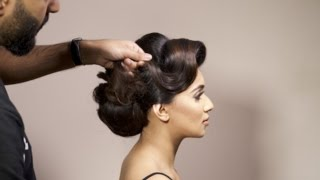 #RHIANNASROOM: 6 Minutes With Aamir Naveed - Glam Hair Up