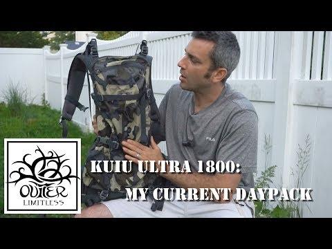 Kuiu Ultra 1800: My Current Daypack