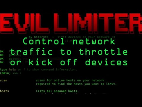 How To: Control Network Traffic with Evil Limiter to Throttle or Kick Off Devices