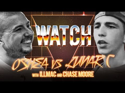 WATCH: OSHEA vs LUNAR C with ILLMAC and CHASE MOORE