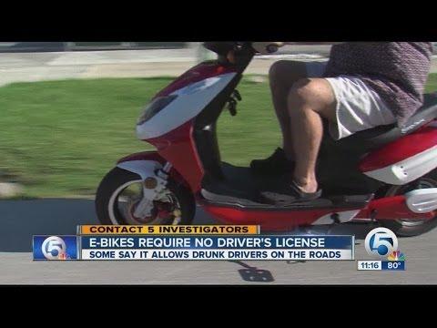 E-bikes Require No Driver's License