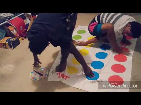 Baby Oil Twister Challenge