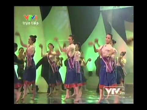 múa Vũ điệu gáo dừa.