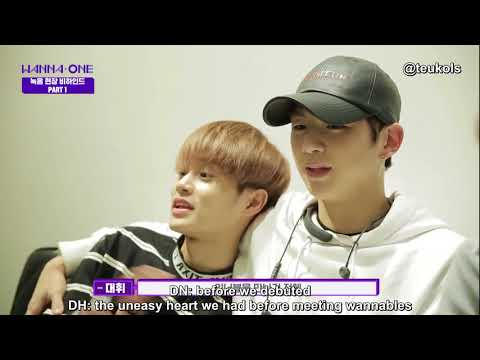 [ENG] Wanna One Beautiful Recording BTS (Part 1)
