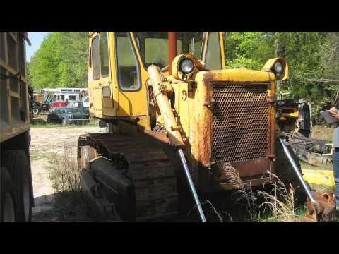 1970 caterpillar d6c dozer - YouTube