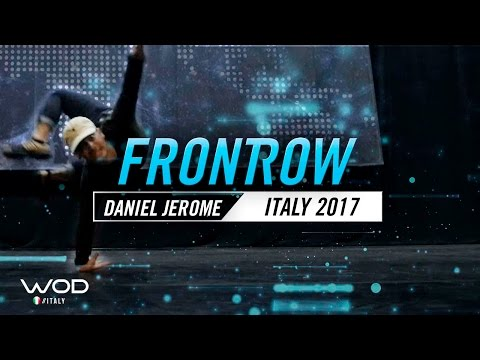 Daniel Jerome | FrontRow | World of Dance Italy Qualifier 2017 | #WODIT17