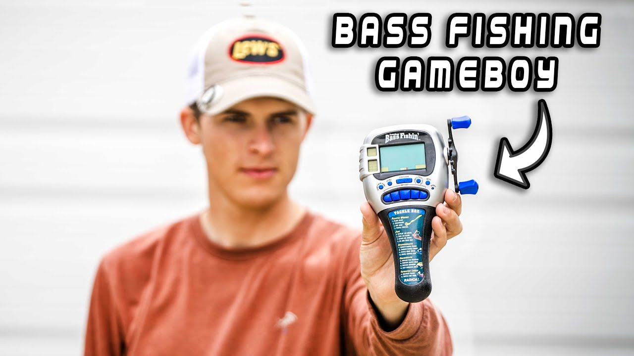 Playing INSANE Fishing Videogame Vs. ACTUAL PRO Fisherman