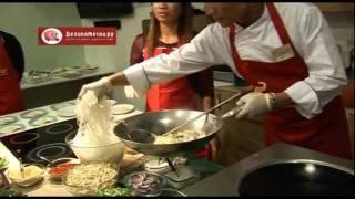 Пад Тай Тале - рисовая лапша с морепродуктами