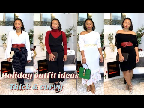 Holiday Outfit Ideas | Thick /Curvy/ Plus Size Girls. Http://Bit.Ly/2KBtGmj
