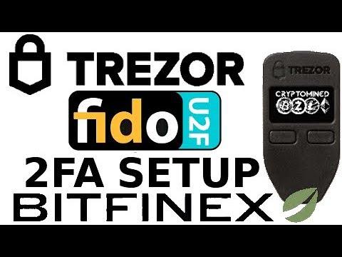 How to Setup FIDO U2F 2FA using Trezor Wallet on Bitfinex