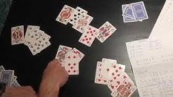 Skat-Tutorial 8/8:Ein Spielszenario und Punkte zählen