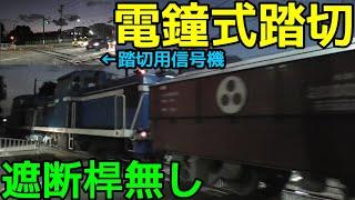 名古屋臨海鉄道の踏切が面白すぎる件