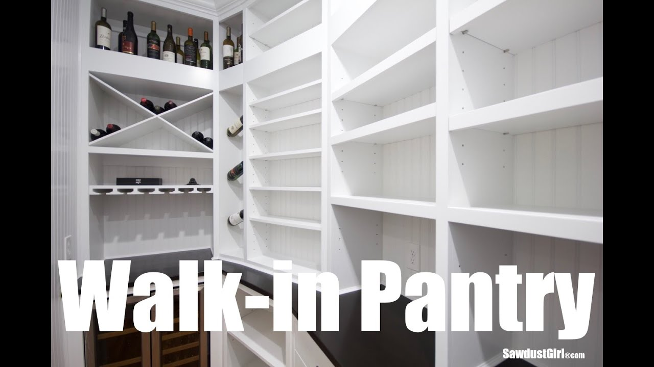 My Walk In Pantry Youtube