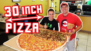 "Fox's 30"" Pizza Challenge w/ Steak and Chicken!!"
