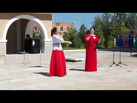 Зачем же я розочку садила... Ольга Валиуллина и Динара Фатхуллина. г. Нижнекамск Татарстан.