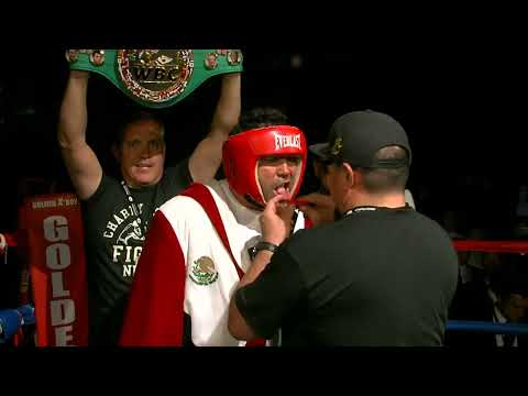 Charity Vision: Oscar De La Hoya vs. Mario Lopez  FULL FIGHT