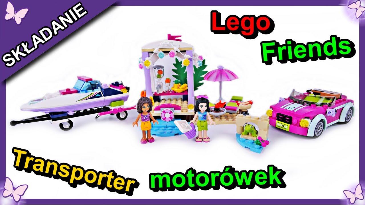 Transporter Motorówek Andrei Klocki Lego Friends 41316 Budowanie