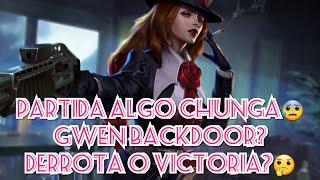 Vainglory Gwen 5v5 backdoor,victoria o derrota?😰🤔