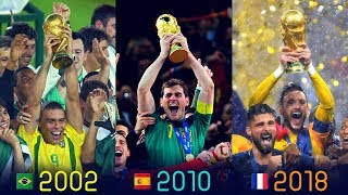 FIFA World Cup Winners II 1930  - 2018 II