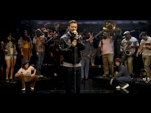 Justin Timberlake - Pusher Love Girl (On Jimmy Fallon 2013) HD