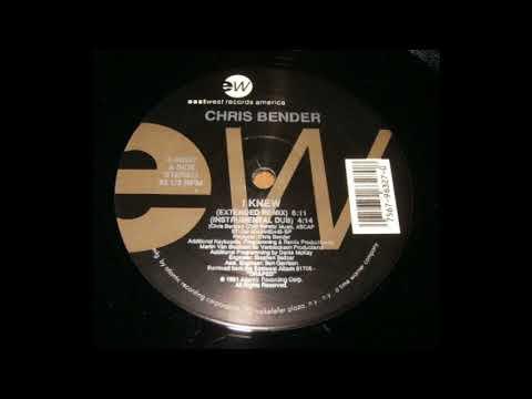 Chris Bender - I Knew (Instrumental Dub)