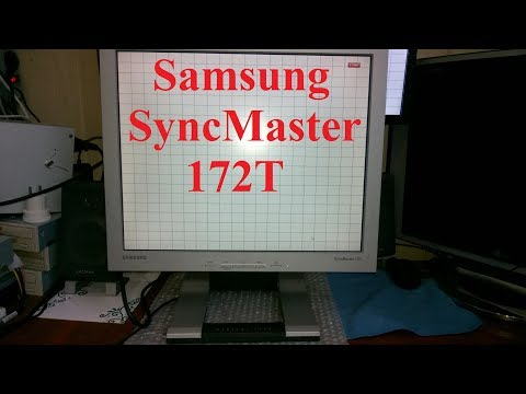 Экспресс-обзор бизнес-старичка - монитор Samsung SyncMaster 172T за - 30$