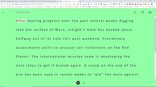 Immersive Reader Extension f๐r Chrome Browsers!