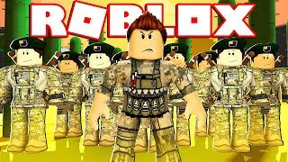 I MAKE MY OWN EXERCIT IN ROBLOX !!