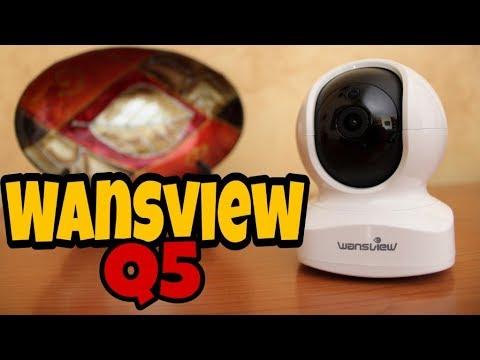 IP Camera Wansview Q5 - Economica con tante funzioni! Recensione e  Configurazione