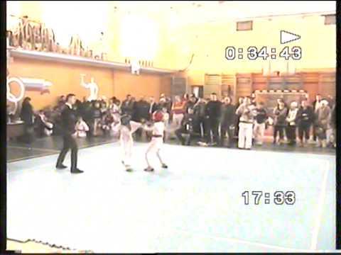 Семен Кирил Финал соревнований по самбо и рукопашному бою В городе Алапаевске 2010 год