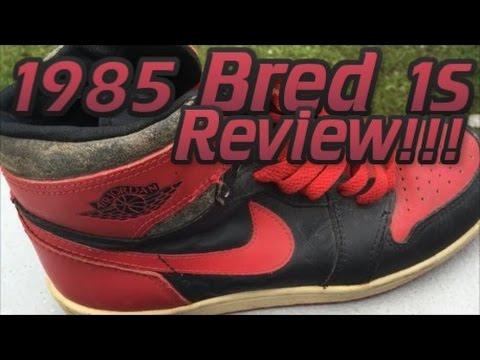 1985 Air Jordan 1 Breds