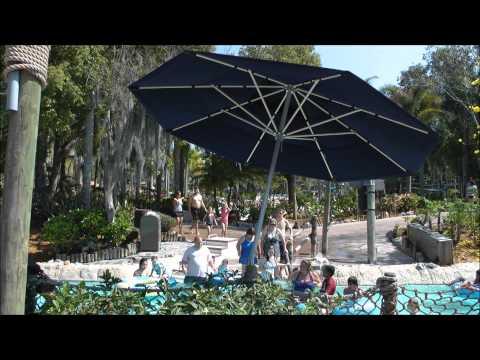 Ketchakiddee Creek, Typhoon Lagoon, Walt Disney World, (HD 1080p)