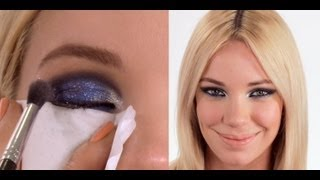 Blue Eyeshadow Tutorial - Editorial/Runway Inspired Makeup Thumbnail