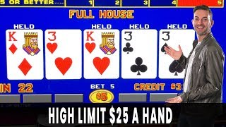 ♣ $25/Hand POKER ♠ Full House = Full Bank Account! 🐮 UNICOW Sighting!