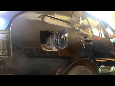 Merubah cover fuel mazda mr90 menjadi semi otomatis