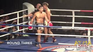 2015香港泰拳冠軍爭奪戰總決賽 林博敏 atma vs羅祖勝 鐵虎