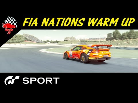 GT Sport FIA Nations Warm Up