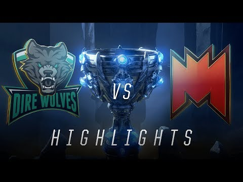 DW vs INF - Worlds Play In Match Highlights (2018)