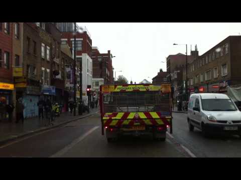 London Streets (600.) - Bethnal Green - Poplar - Blackwall Tunnel - Blackheat - Kidbrooke
